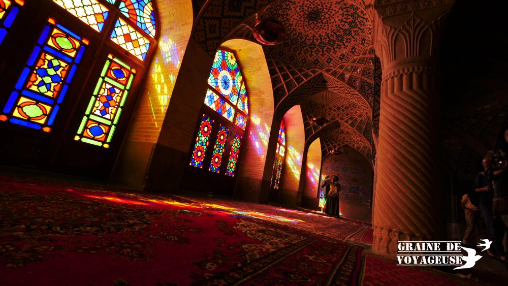 nazir ol molk mosquée shiraz iran