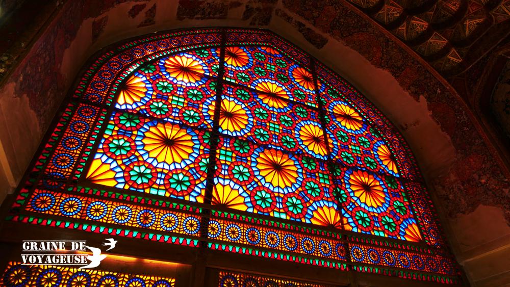 shiraz iran couleur vitraux