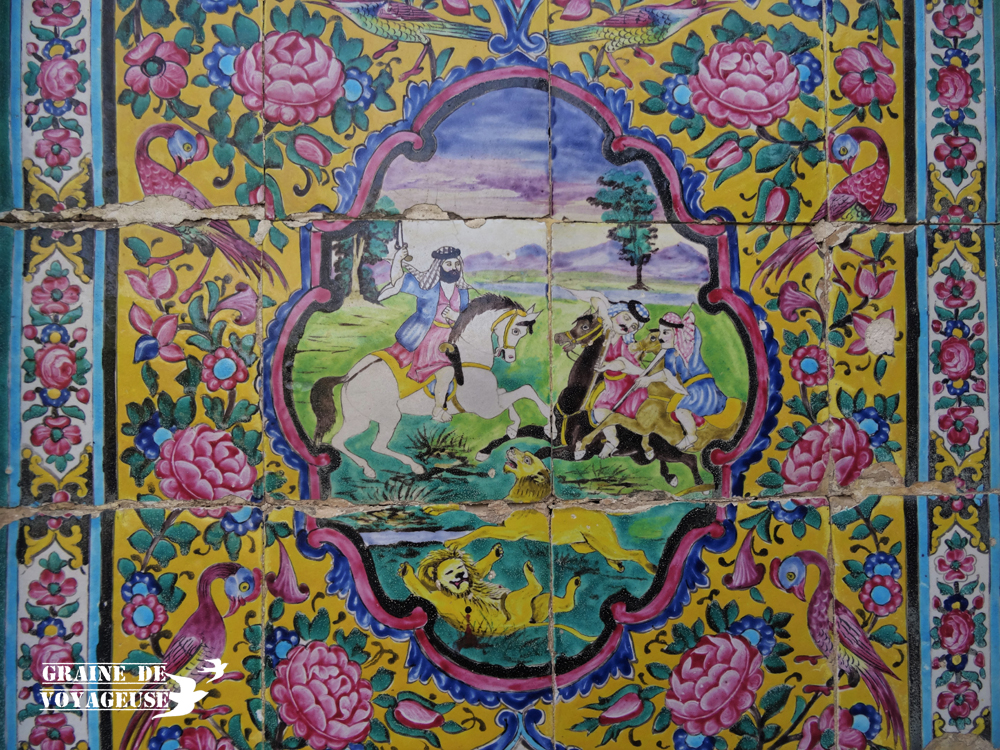 nazir ol molk shiraz iran mosaique