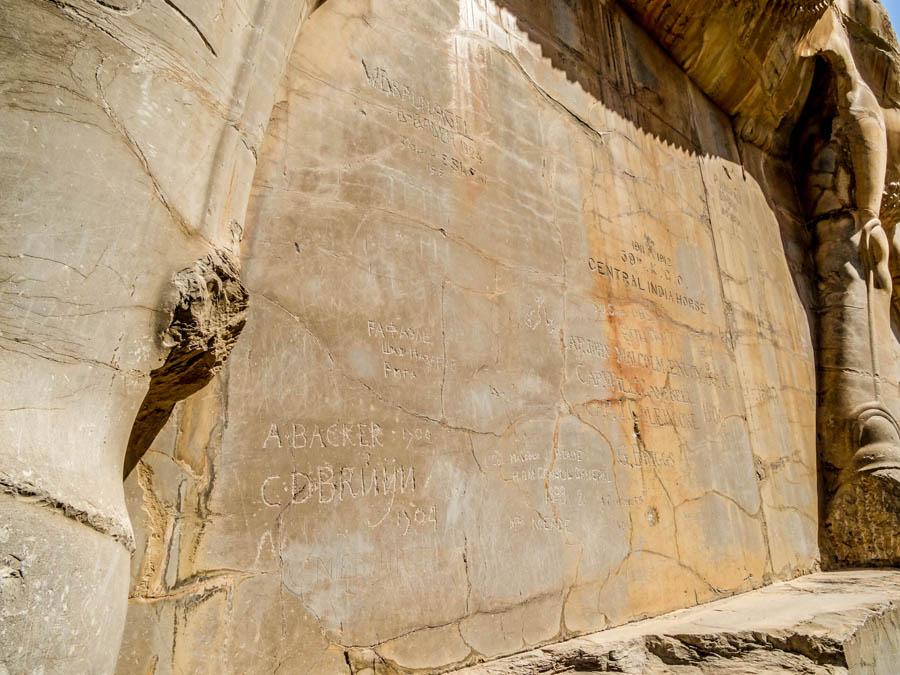 Persepolis Porte des nations Iran